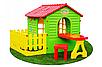 Детский садовый домик + столик + стул Mochtoys, фото 2