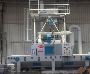 Дробеструйная установка проходного типа SK-4 ÇETİNGİL