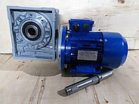 Червячный мотор-редуктор NMRV-90 1:40 0.55 кВт 750 об/мин, фото 1