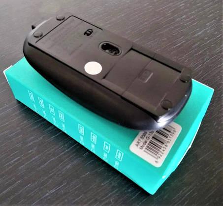 Беспроводная Мышка на АККУМУЛЯТОРЕ Дизайн APPLE Заряжается Тонкая Для Компьютеров и Ноутбуков, фото 2