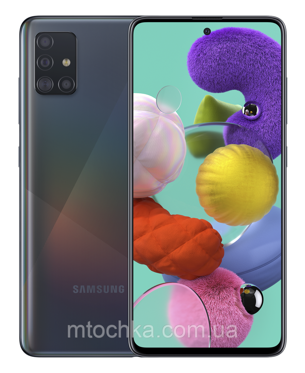 Смартфон Samsung SM-A515F Galaxy A51 Duos  2020 4/6 (официальная гарантия)