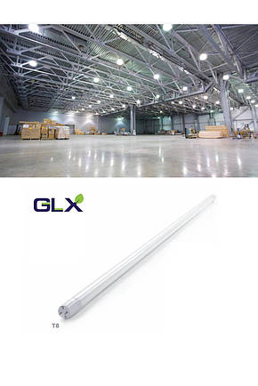 Led лампа T-8 G13 9W 60см. 6400K GLX LED, фото 2