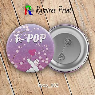 Значок K-Pop K-pop 002