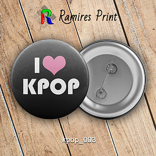 Значок K-Pop K-pop 003