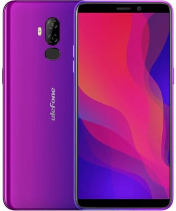 Смартфон UleFone Power 3L 2/16Gb purple, 6350mAh, 8+5/2Мп, 2sim, экран 6'' IPS, 4 ядра, 4G (LTE)