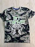 Яркие футболки для мальчиков 6-9лет, фото 2