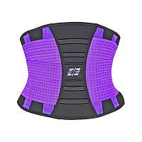 Пояс для поддержки спины Waist Shaper PS-6031 Purple L-XL - 190287 (SKU777)