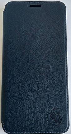 "Чохол-книжка ''Dragon Standart"" Xiaomi Redmi 8 темно-блакитний, фото 2"