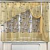 Модные шторы и занавески для кухни, фото 2