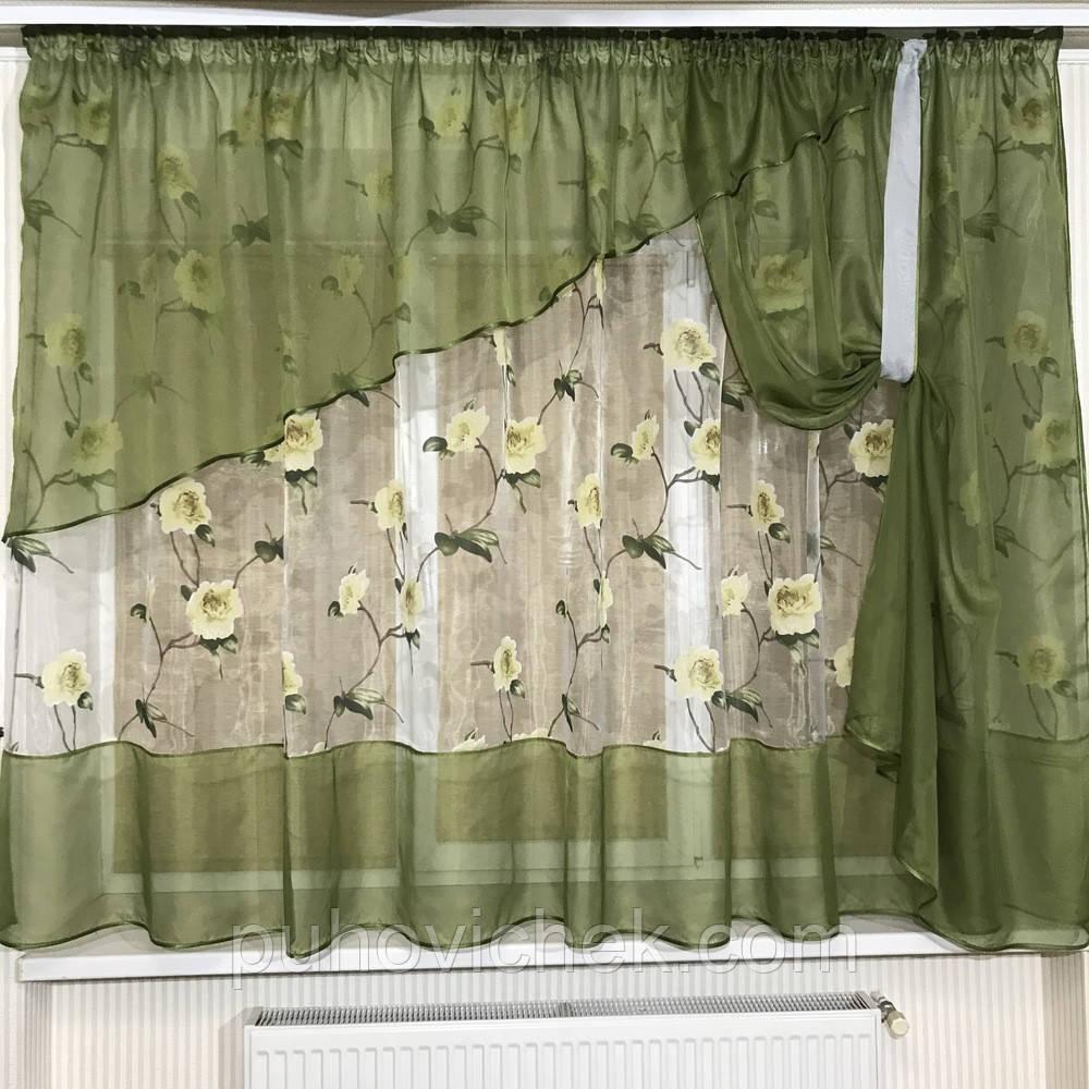 Модные шторы и занавески для кухни