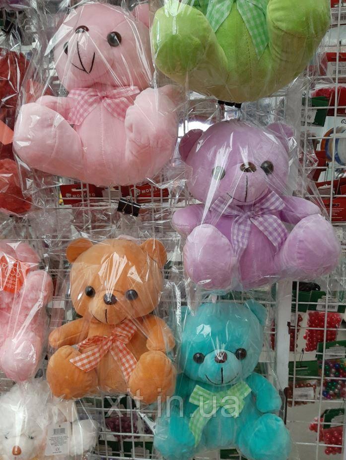 Мягкая игрушка велюровый Мишка 24 см. .