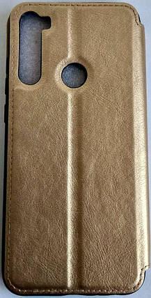 "Чохол-книжка ''Dragon Standart"" Xiaomi Redmi Note 8T золотий, фото 2"