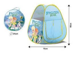 Детская игровая палатка RoyalToys Холодное сердце в сумке, 70х70х90 см.