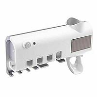 Диспенсер для зубной пасты и щеток автоматический Toothbrush sterilizer (W-020)