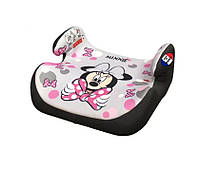 Автокресло для девочки, бустер 25-36 кг, группа 3, Minnie Disney.