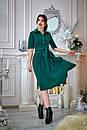 Платье с расклешенной юбкой 555, фото 7