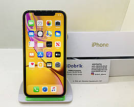 Телефон Apple iPhone XR 128 gb Yellow  Neverlock 9/10