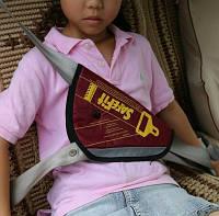 Детское удерживающее устройство ФЭСТ SafeFit, треугольник адаптер ремней безопасности, фото 1