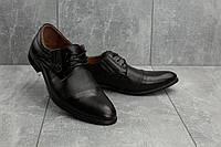 Мужские туфли кожаные весна/осень коричневые Slat 1801, фото 1