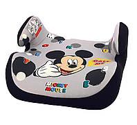 Автокресло для мальчика, бустер 25-36 кг, группа 3,Micki Disney.