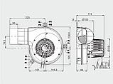 Витяжний вентилятор MplusM G2E 180-GV82-01 (340 куб. м/год), фото 5