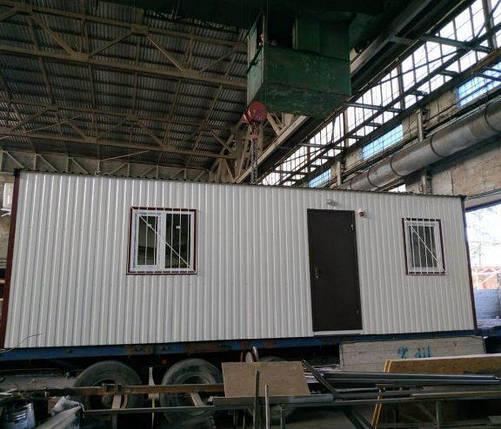 Бытовка строительная 2,5х6 м, фото 2