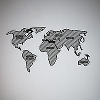 Декоративное металлическое панно  Map ., фото 1