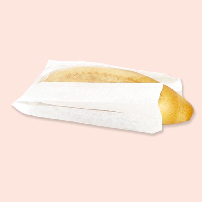 Паперовий пакет білий з поліпропіленовою вставкою 370х100х50/80 ящ.1000шт