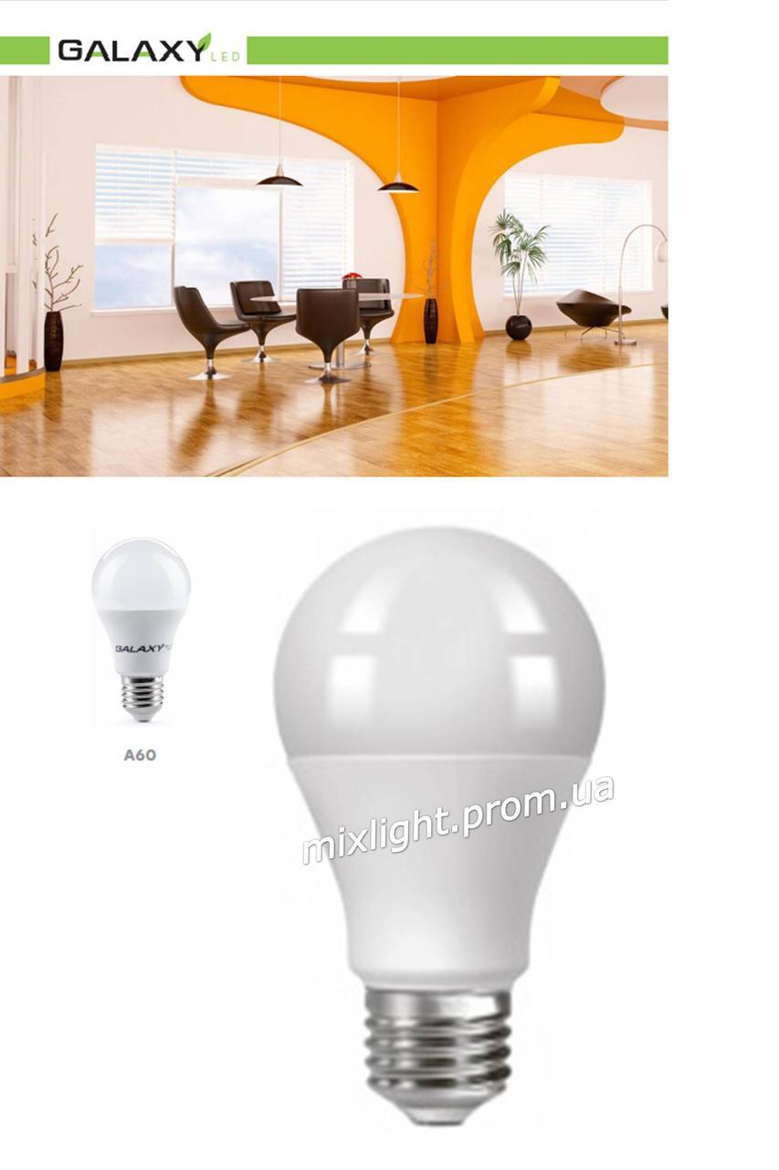 Низковольтная светодиодная лампа 10W E27 A60 4100K 12V GLX