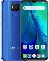 Смартфон UleFone Power 6 4/64Gb Blue, 6350mAh, 16+2/16Мп, 2sim, экран 6.3'' IPS, 8 ядер, 4G (LTE)