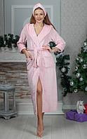 Женский махровый халат  с повязкой Размер 42 44 46 48 50 52 В наличии 4 цвета, фото 1
