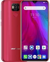 Смартфон UleFone Power 6 4/64Gb Red, 6350mAh, 16+2/16Мп, 2sim, экран 6.3'' IPS, 8 ядер, 4G (LTE)