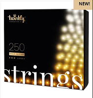 Smart Гирлянда Twinkly Strings 250 LEDs Gold Edition, фото 1