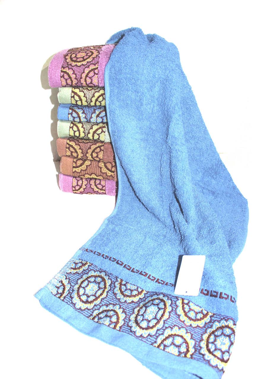 Полотенце для лица и рук № В-2816 (уп. 8 шт.) Хлопок