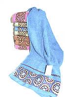 Полотенце для лица и рук № В-2816 (уп. 8 шт.) Хлопок, фото 1