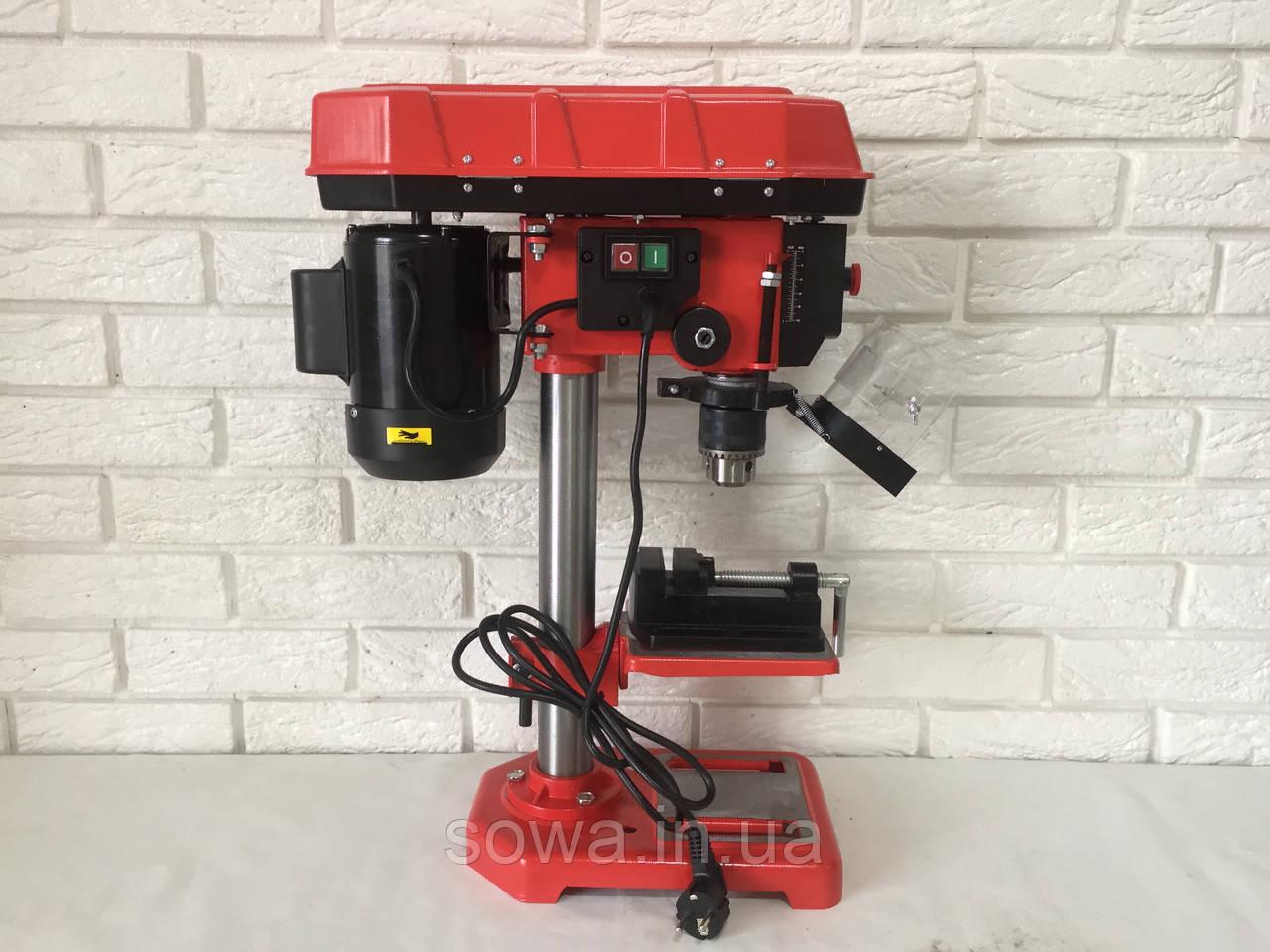 ✔️ Сверлильный станок MAX MXDP-16-1   с тисками, 1600Вт, Патрон-16мм