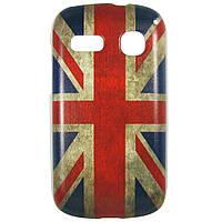 Чехол с рисунком Printed Plastic для Alcatel One Touch POP C3 4033D / 4033X Флаг Великобритании