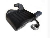 Бустер Lionelo 15-36 кг автокресло черное без чехла, фото 1