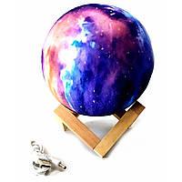 """Ночник """"Луна"""" Led, сенсорный переключатель цветов(d-15 см) фиолетовый"""