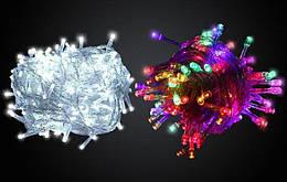 Гирлянда светодиодная LED 200, синяя (223)