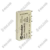 Реле FINDER 34.51.7.060.0010, 60VDC, 6А/250VAC 6А/30VDC
