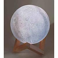 """Ночник """"Луна"""" Led, сенсорный переключатель цветов(d-15 см)"""