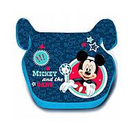 Автокресло сиденье для мальчиков, бустер 25-36 кг, группа 3,Micki Mouse Disney.