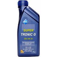 Моторное синтетическое масло ARAL(арал) SuperTronic G 0W-30 1л.