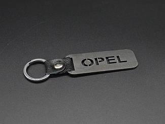 Брелок металлический. Opel. 10х2,5см