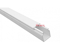 Кабель-канал с 1-ым замком SOKOL 16х16 (180) пластик Professional белый