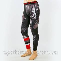 Штаны мужские компрессионные для спорта VENUM WOLF replica CO-8226 XL