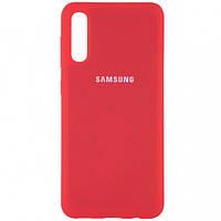 Силиконовый чехол - Full Silicone Cover на Samsung A50/A30s Красный (red)