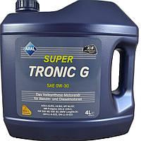 Моторное синтетическое масло ARAL(арал) SuperTronic G 0W-30 4л.