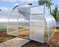 Теплица Oscar Plus Садовод Агро 18 м² (300х600х200 см) 8 мм Сотовый Поликарбонат (osc_teplitsa6)